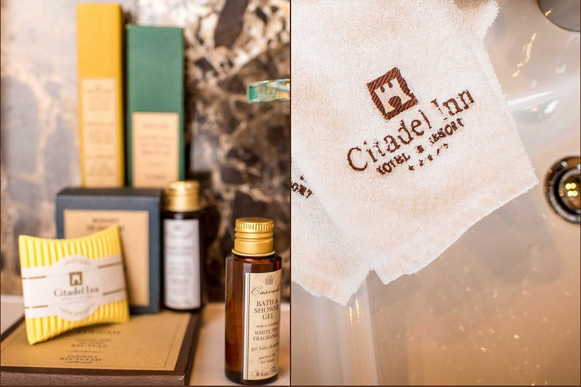 Bathroom accessories - Citadel Inn Hotel & Resort